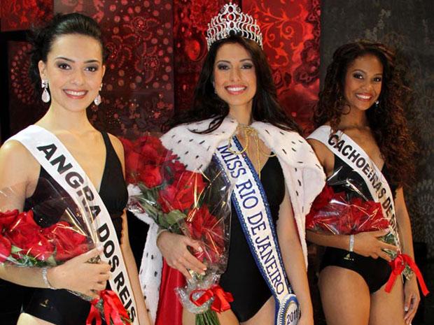 Mariana Figueiredo, ao centro, vai ser a representante fluminense no Miss Brasil 2011 (Foto: Divulgação/Helmut Hossmann)