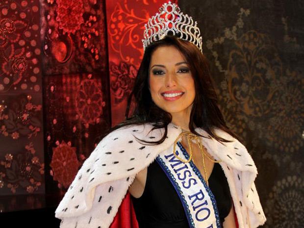 Mariana Figueiredo venceu 26 candidatas para poder representar Teresópolis no concurso de Miss Brasil neste ano (Foto: Divulgação/Helmut Hossmann)