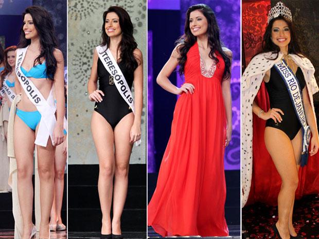 Mariana Figueiredo disse que dormiu como princesa após ser eleita Miss Brasil (Foto: Divulgação/Helmut Hossmann)