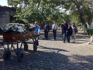 Enterro Wilza Carla (Foto: Lílian Quaino/G1)