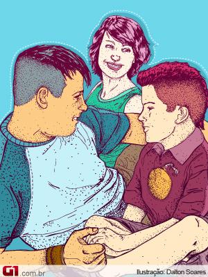 Ilustração psicóloga (Foto: Arte/G1)
