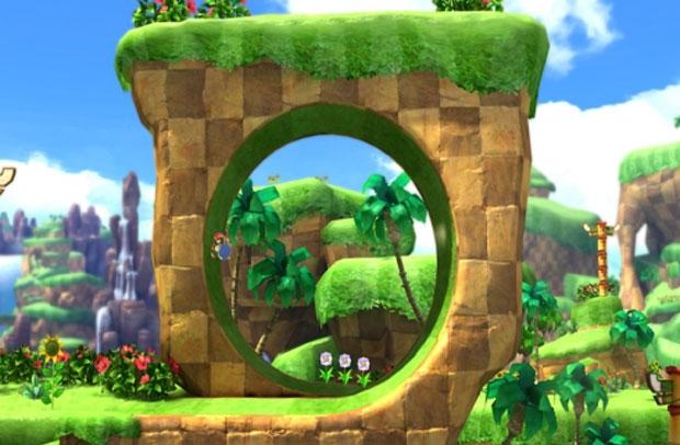Para agradar fãs, 'Sonic Generations' une jogabilidade clássica com atual do herói (Foto: Divulgação)