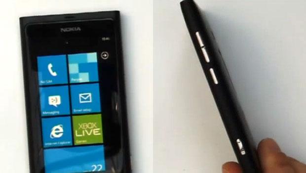 Vídeo mostra imagens do primeiro celular Nokia com Windows Phone (Foto: Reprodução)