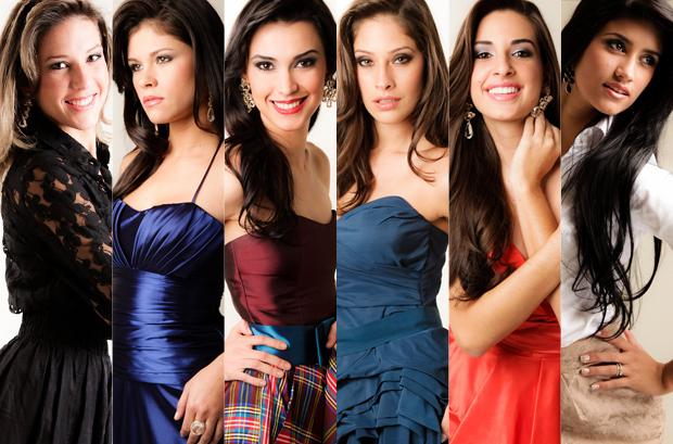 Confira as 6 candidatas a Miss Mato Grosso do Sul e as cidades que representam (Foto: Alexis Prappas)