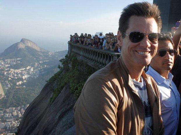 Jim Carrey (Foto: Gabriel Reis e Delson Silva / AgNews)