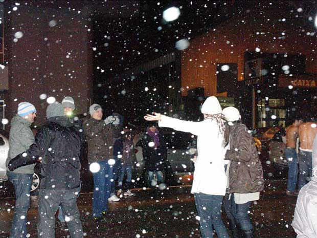 neve (Foto: Anselmo Nascimento/Mural/Futura Press)