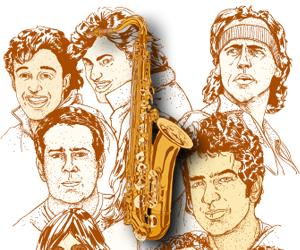 Selo saxofone (Foto: G1)