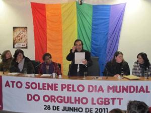 Casal gay (Foto: Carolina Iskandarian/ G1)