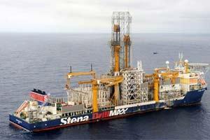 O navio sonda de última geração Stena Drillmax I, que perfurou poço localizado a 190 quilômetros da costa do Rio de Janeiro (Foto: Divulgação/Petrobras)