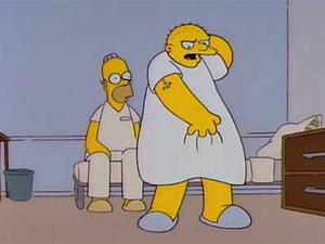 Particação de MJ em 'Os Simpsons' é uma das mais conhecidas do desenho (Foto: Divulgação)