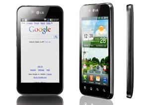 Optimus Black roda Android 2.2 (Foto: Divulgação)