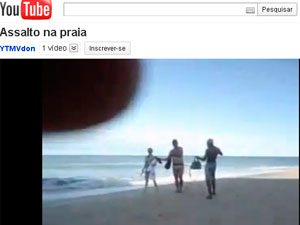 Assalto em Porto Seguro (Foto: Reprodução/ YouTube)
