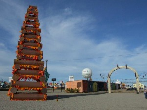 Cidade cenográfica representa a antiga Juazeiro do Norte (Foto: Prefeitura de Maracanaú/Divulgação)
