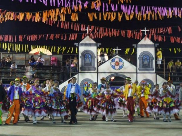 Mais de 80 quadrilhas juninas se apresentarão nos 17 dias de evento (Foto: Prefeitura de Maracanaú/Divulgação)