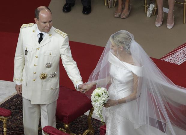 Casamento real em Mônaco (Foto: Lionel Cironneau/AP)