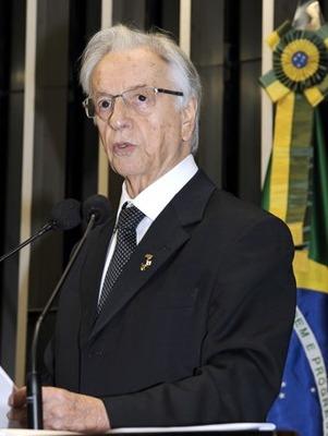 Itamar Franco morreu em São Paulo (SP), com 81 anos (Foto: g1)