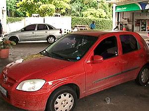 Homem é morto a tiros na Avenida ACM, em Salvador (Foto: Reprodução/TV Bahia)