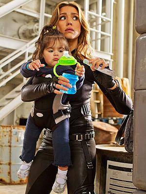 Jessica Alba em 'Pequenos espiões 4' (Foto: Divulgação)