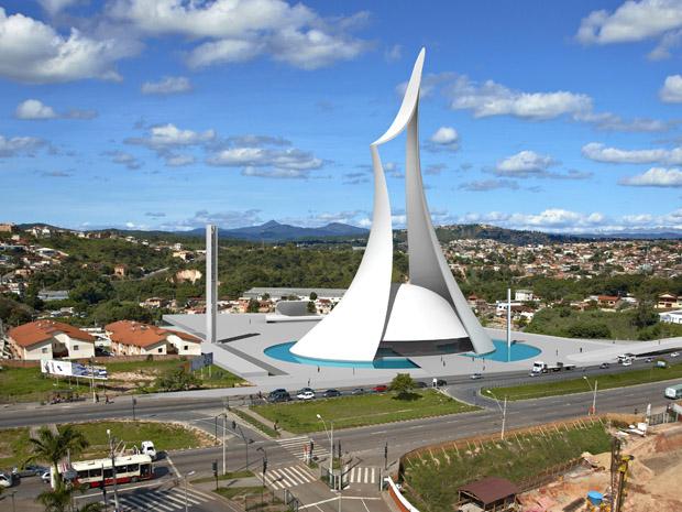 Catedral Cristo Rei (Foto: Arquidiocese de Belo Horizonte/Divulgação)