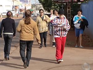 Bairro de Campo Grande é mais populoso que 85% das cidades de MS (Foto: Reprodução/TV Morena)