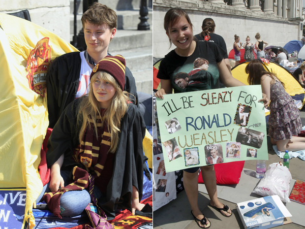 Fãs de Harry Potter (Foto: Reuters)