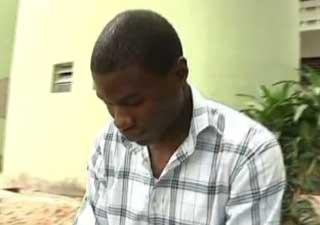 nigeriano (Foto: Reprodução/TV Globo)