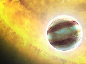 O planeta Kepler 2-b foi o alvo da investigação do Hubble (Foto: NASA; ESA; G. Bacon, STScI)
