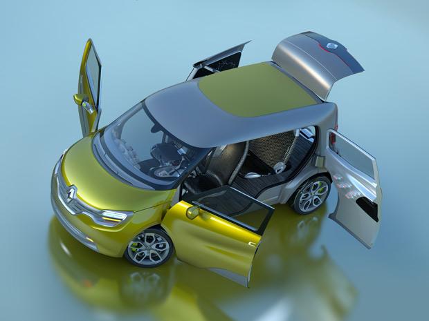 Renault Frendzy é 100% elétrico (Foto: Divulgação)