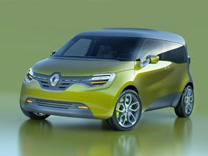 Renault Frendzy será exposto na Alemanha, em setembro (Foto: Divulgação)