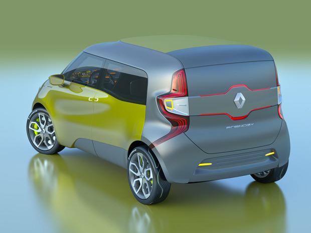 Renault Frendzy foi concebido tanto para uso comercial quanto familiar (Foto: Divulgação)