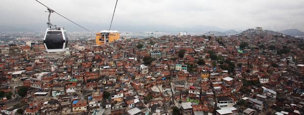 teleférico do alemão (Foto: Luiza Reis / Governo do Rio)