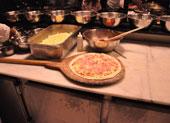 Presunto pizza (Foto: Fabiano Correia/G1)