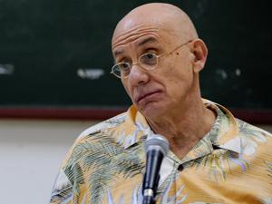 O escritor americano James Ellroy (Foto: Flavio Moraes/G1)