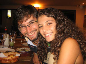 Paulo deu aulas de matemática para Beatriz (Foto: Arquivo pessoal)