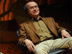 O quadrinista Joe Sacco (Foto: Flavio Moraes/G1)
