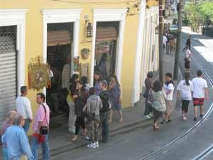 Santa Teresa - Arte de Portas Abertas tem exposição em 38 ateliês e cinco centros culturais. (Foto: Alba Valéria Mendonça/G1)