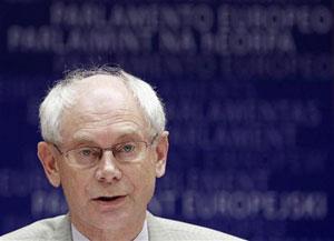 O chefe do Conselho Europeu, Herman Van Rompuy (Foto: Reuters)