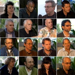 Assista a entrevistas exclusivas  com autores durante a Flip 2011 (Editoria de arte/G1)