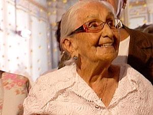 Dona Canô (Foto: Reprodução/TV Bahia)