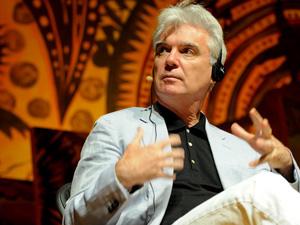 O escocês David Byrne fala na Flip (Foto: Flavio Moraes/G1)