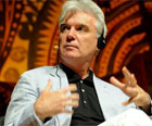 David Byrne ataca modelo 'insustentável' (Flavio Moraes/G1)