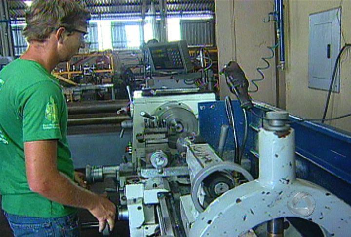 Industrialização de MS depende de qualificação (Foto: Reprodução/TV Morena)