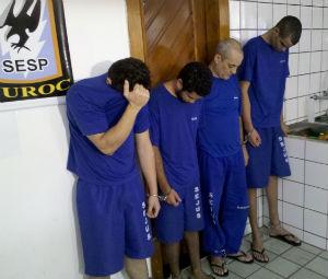 Quadrilha mineira dá golpe no Espírito Santo (Foto: Rafael de Angeli / TV Gazeta)