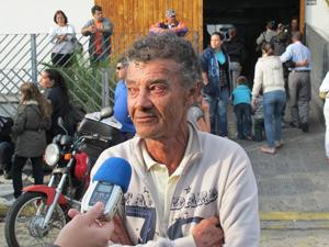 Sebastião, pai de Nicole, acredita em vingança (Foto: Juliana Cardilli/G1)