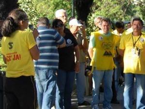 Sindetran-CE entra em greve (Foto: Sindetran/ Divulgação)