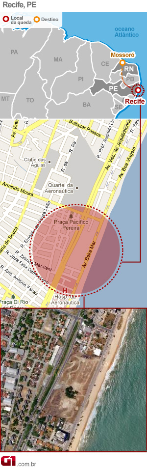 Recife (Foto: Arte/G1)