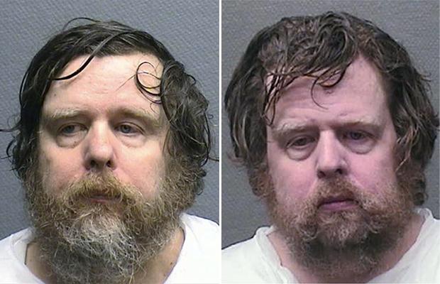 Os gêmeos Edwin e Edward Berndt em foto divulgada pelo Departamento de Polícia de Houston, no Texas (Foto: AP)