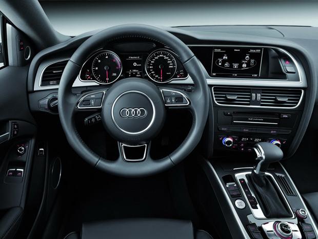Interior da gama A5 também foi modificado (Foto: Divulgação)