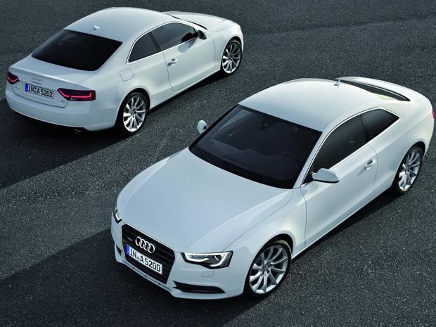 Audi A5 2012 recebeu diversas melhorias  (Foto: Divulgação)