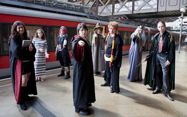 Antes e depois de Harry Potter (Foto: Daigo Oliva/G1)